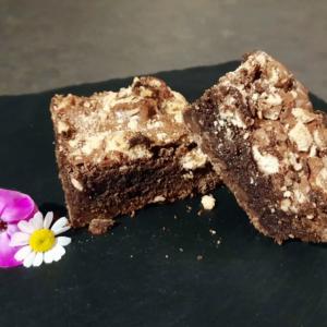 Brownie met bokkenpootjes